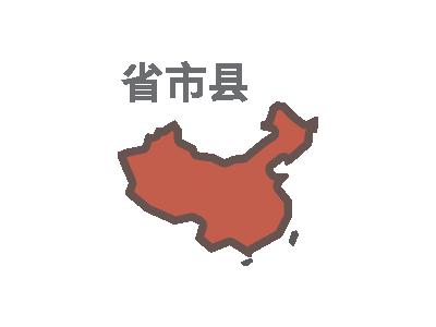 中国省市县信息
